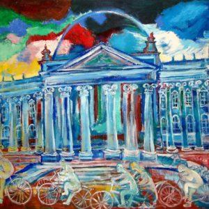 Der blaue Reichstag